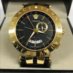 Versace V-Race GMT Alarm Mens Watch 29G70D009 S009